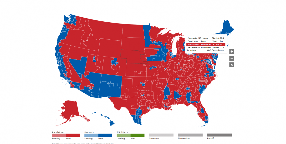 2018 Midterms: Live Election Results - Outriders Network