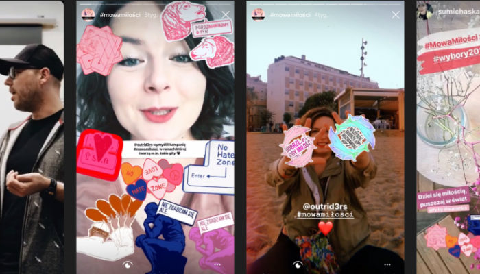 Love Speech   Outriders   Screenshots of Outriders Instagram Stories